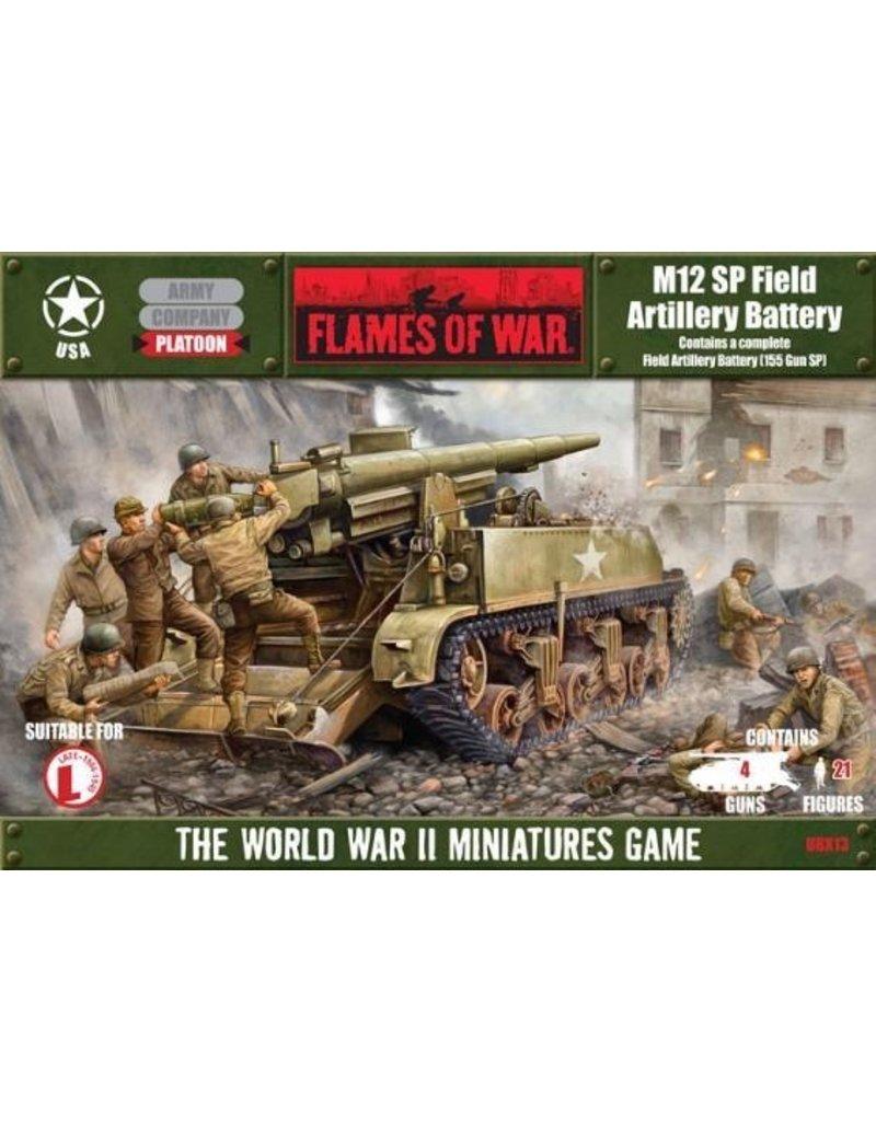Flames of War UBX13 M12 Medium Artillery Battery