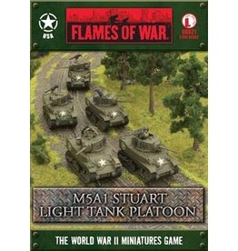 Flames of War UBX21 M5A1 Stuart Light Tank Platoon