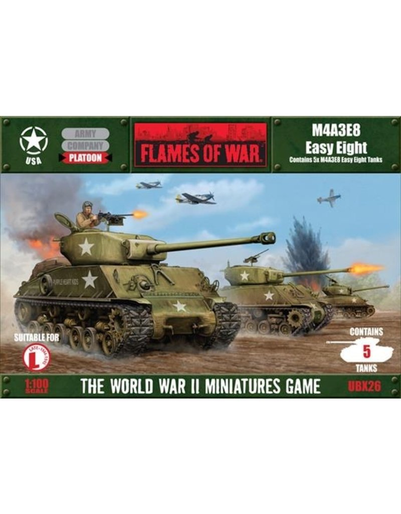 Flames of War UBX26 M4A3E8 Easy Eight