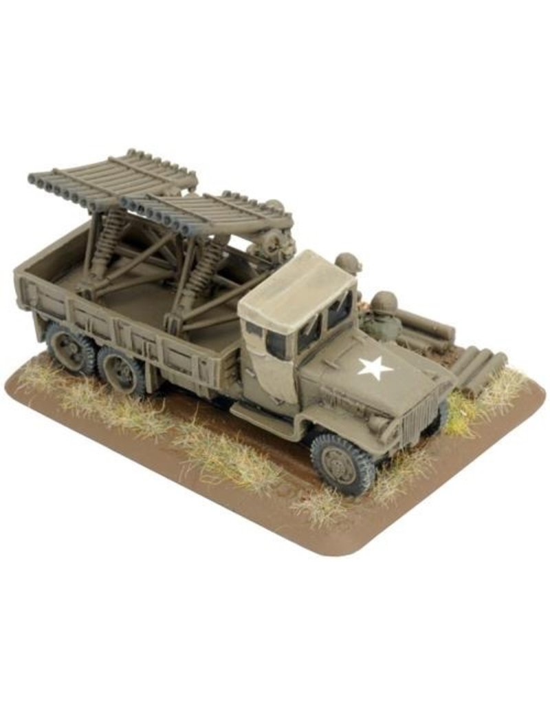 Flames of War UBX39 T27 Xylophone Rocket Launcher Battery