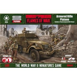 Flames of War UBX41 Armored Rifle Platoon (plastic)