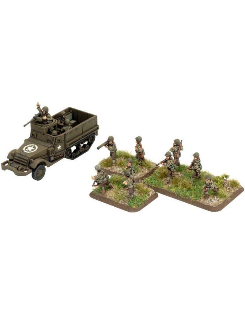 Flames of War UBX41 Armored Rifle Platoon (plastic)