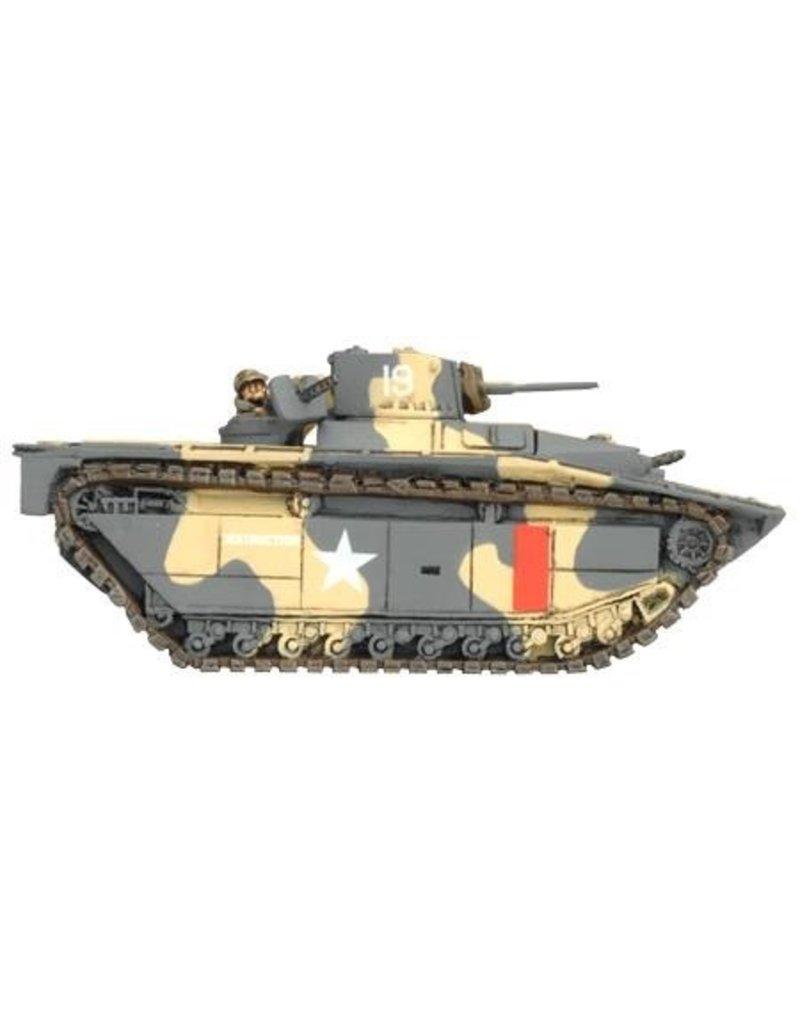 Flames of War UBX45 Amphibian Tank Platoon