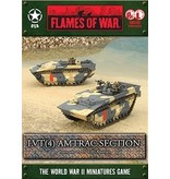 Flames of War UBX46 LVT(4) Amtrac Section