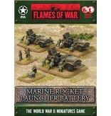 Flames of War UBX47 Marine Rocket Launcher Battery