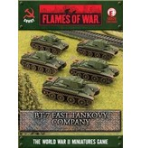 Flames of War SBX20 BT-7 Fast Tankovy Company