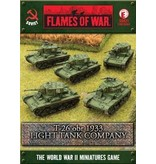 Flames of War SBX21 T-26 obr 1933 Light Tankovy Company
