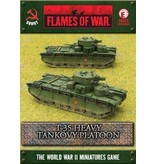Flames of War SBX23 T-35 Heavy Tankovy Platoon
