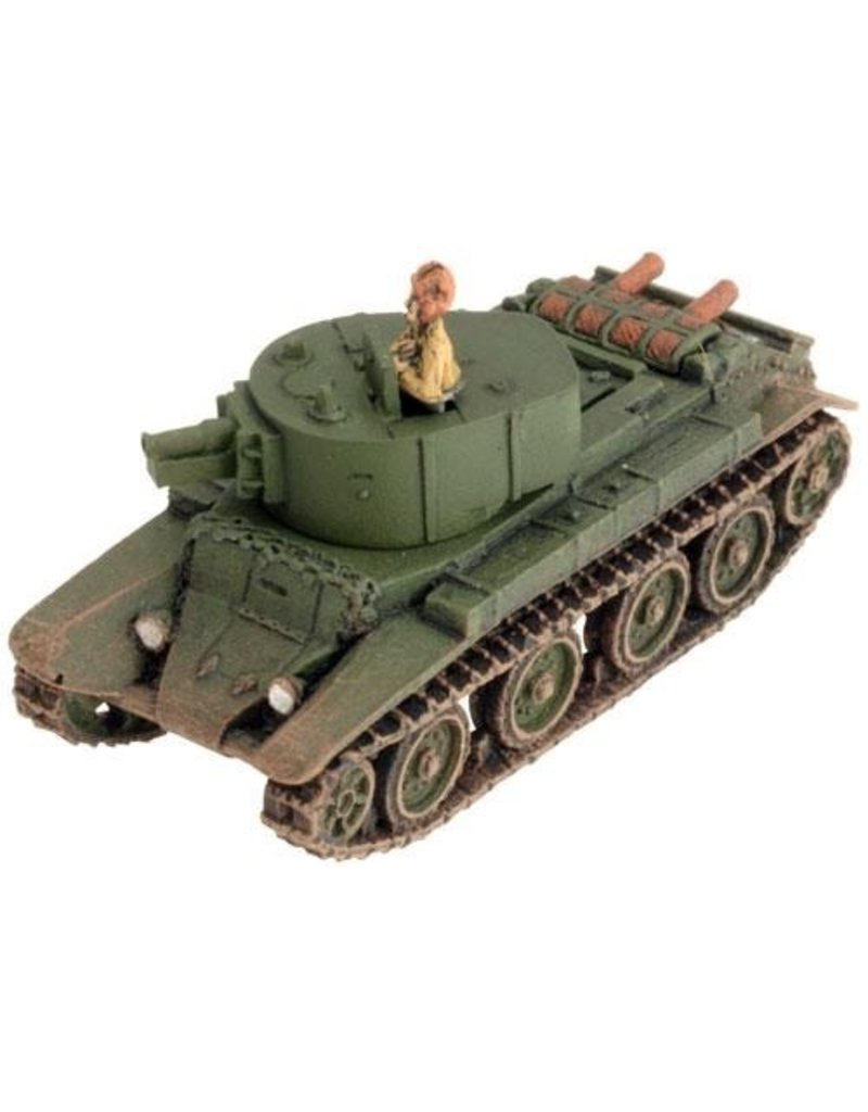 Flames of War SBX25 BT-7A Self-propelled Gun Platoon
