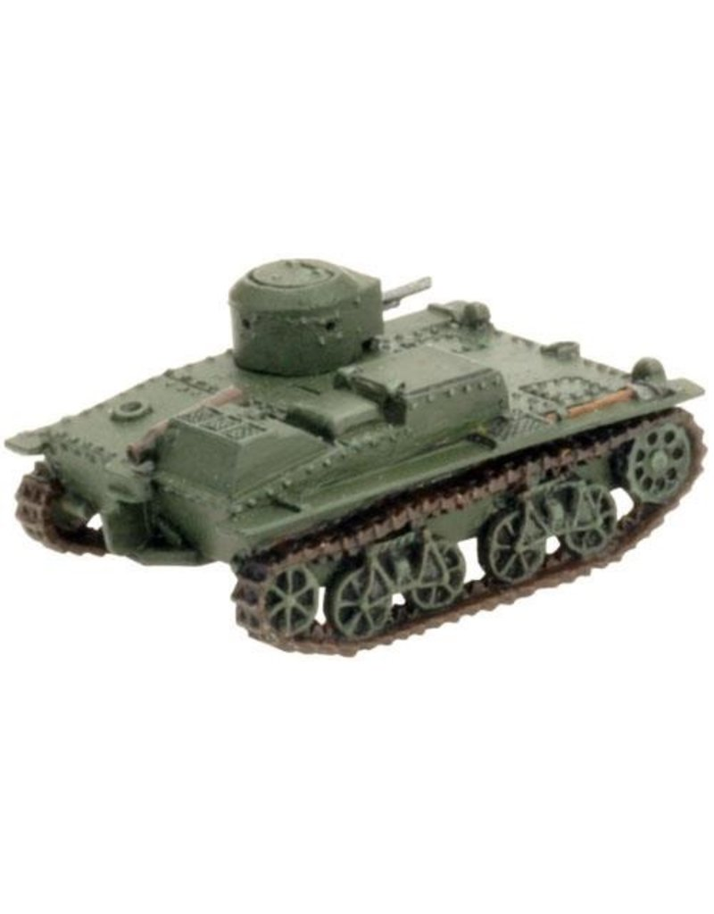 Flames of War SBX27 T-38 Scout Tank Company