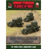 Flames of War SBX26 SU-12 Self-propelled Gun Battery