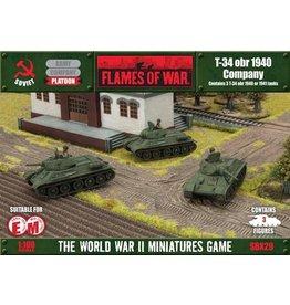 Flames of War SBX29 T-34 obr 1940 Company