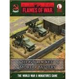 Flames of War SBX32 Heavy Rocket Mortar Battalion