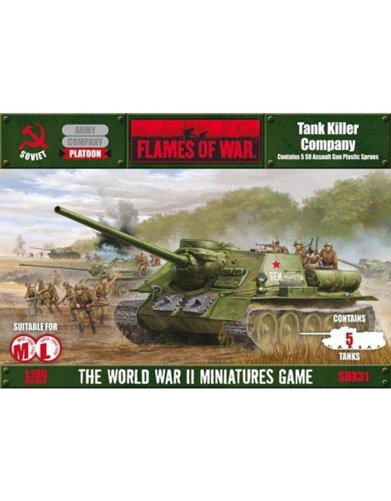 Flames of War SBX31 Tank Killer Company (Plastic)