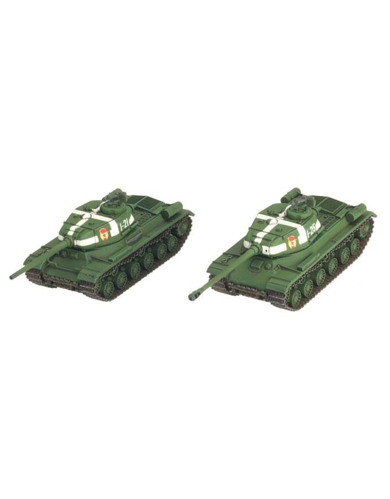 Flames of War SBX36 IS-2 Guards Heavy Tank Company (Plastic)