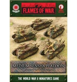 Flames of War JBX02 Type 89 Chi-Ro Platoon
