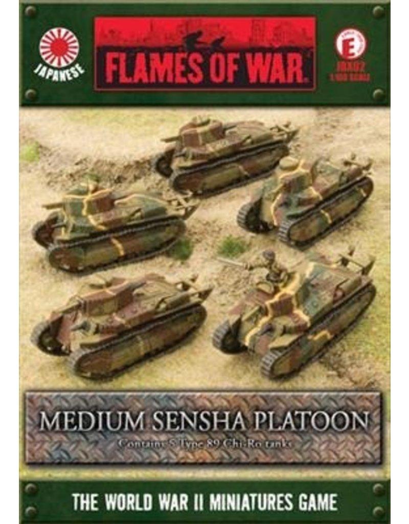 Flames of War JBX02 Type 89 Chi-Ro Platoon