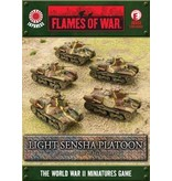 Flames of War JBX03 Light Sensha Platoon
