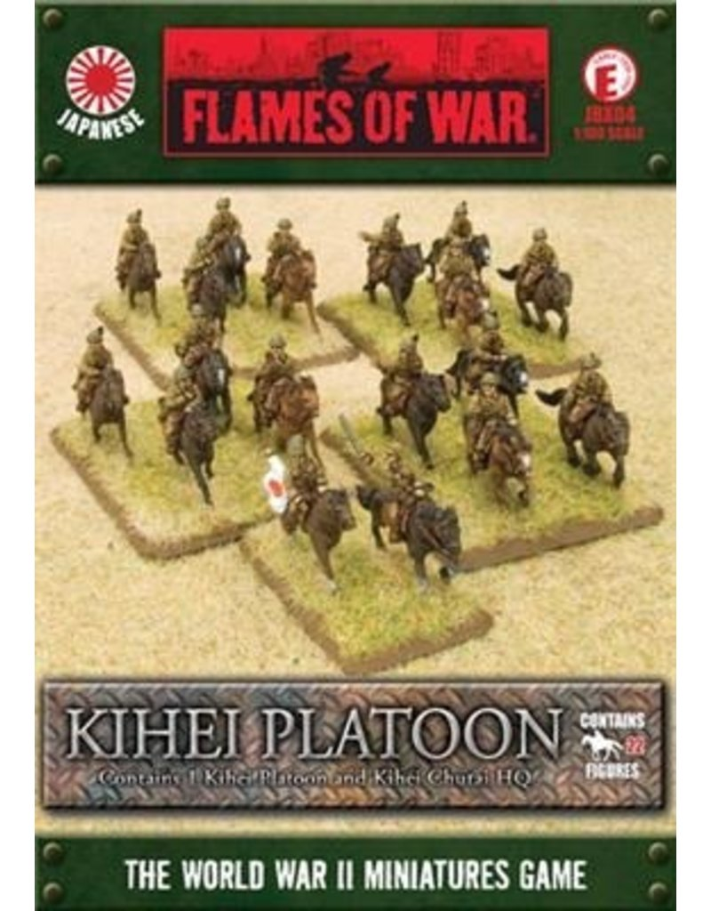 Flames of War JBX04 Kihei Company