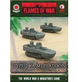 Flames of War JBX06 Type 2 Ka Mi Platoon