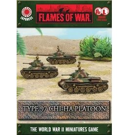 Flames of War JBX09 Type 97 Chi-Ha Tank
