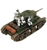 Flames of War FIX01 Panssari Christie Platoon