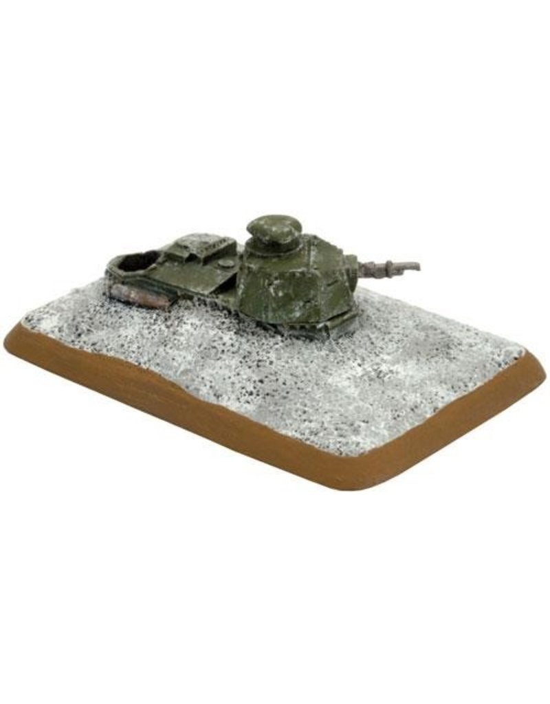 Flames of War FI681 FT-17 Turret Bunkers