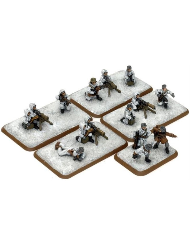 Flames of War FI724 Machine-gun Platoon (Winter)