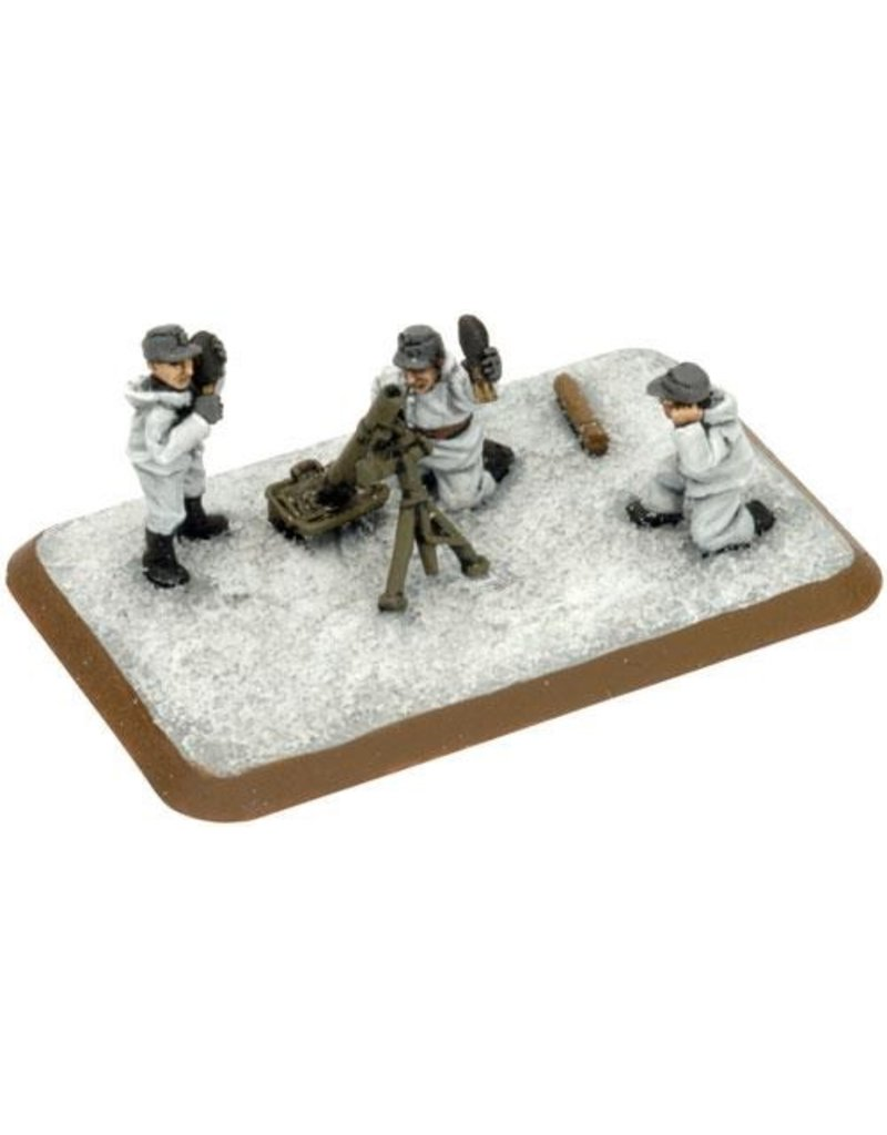 Flames of War FI725 Mortar Platoon (Winter)