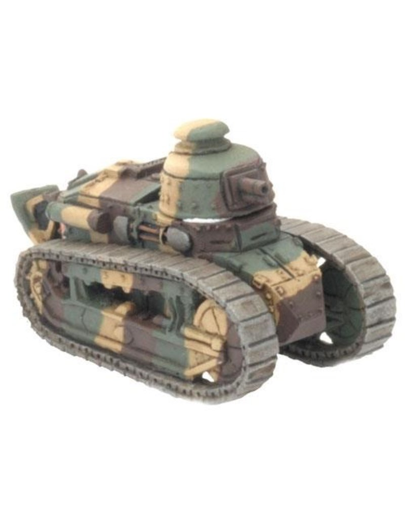 Flames of War FR001 Renault FT-17 (x2)