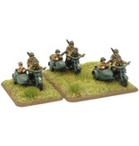 Flames of War FR400 Fusiliers Motocyclistes Squad