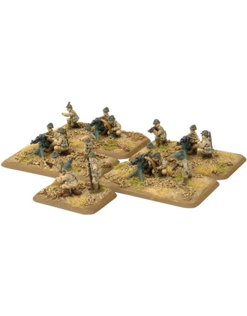 Flames of War FR744 Tirailleurs Machine-gun Platoon