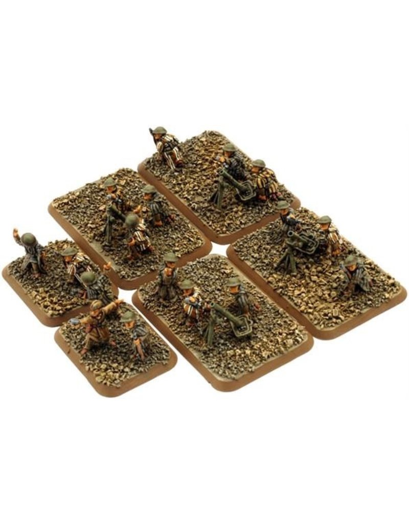 Flames of War FR805 Goum Mortar Platoon