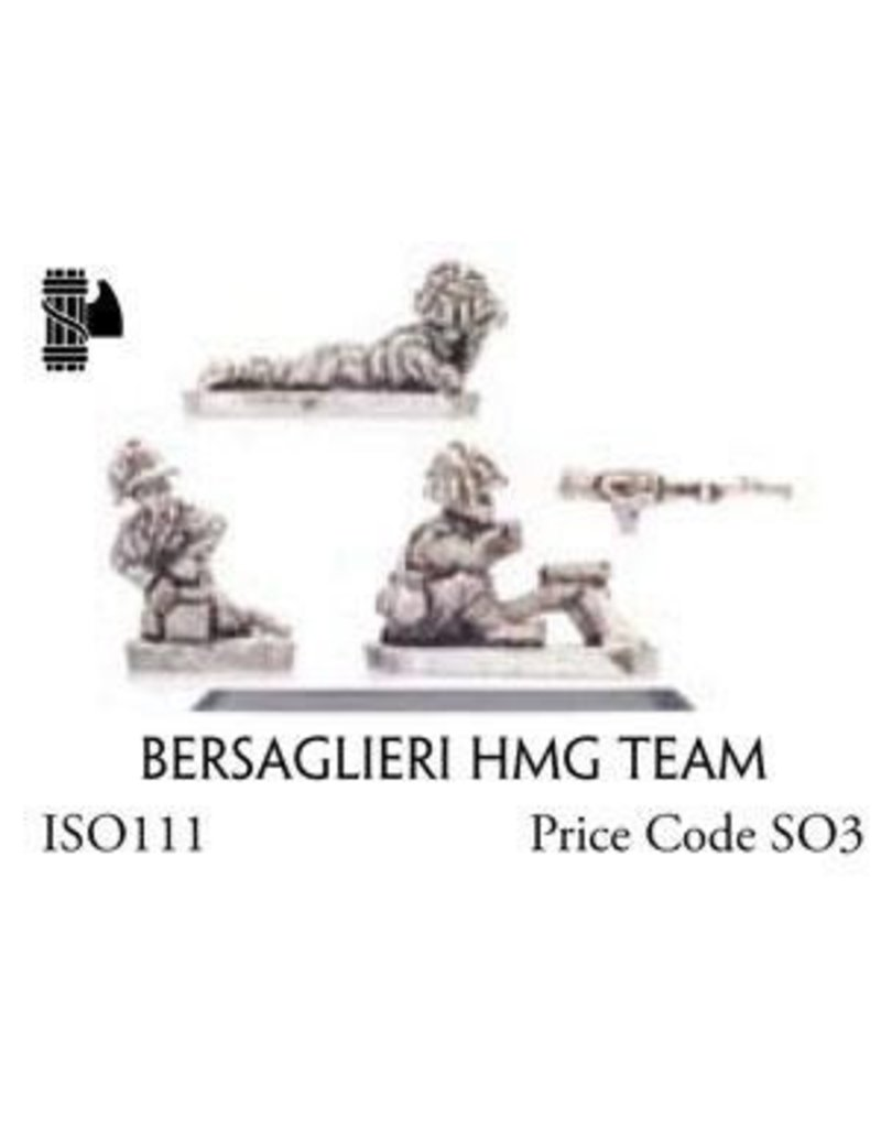 Flames of War ISO111 Bersaglieri HMG Team