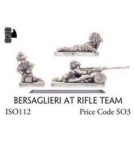 Flames of War ISO112 Bersaglieri AT Rifle Team