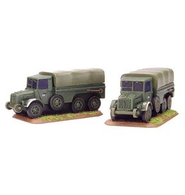 Flames of War HU420 Botond Truck (x2)