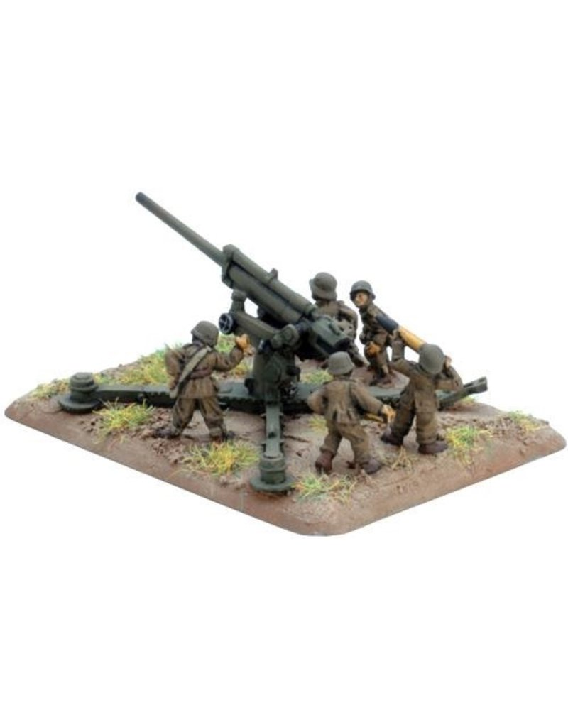 Flames of War HU550 80mm 29/38M Anti-aircraft gun