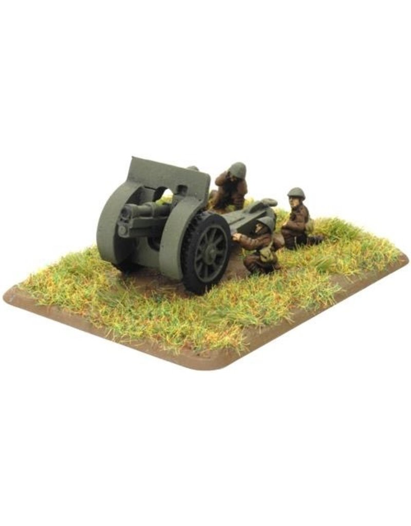 Flames of War RO580 Skoda 100mm howitzer