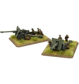 Flames of War RO585 Schneider 105mm M36 gun (x2)