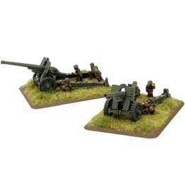 Flames of War RO595 Skoda 150mm M34 gun (x2)