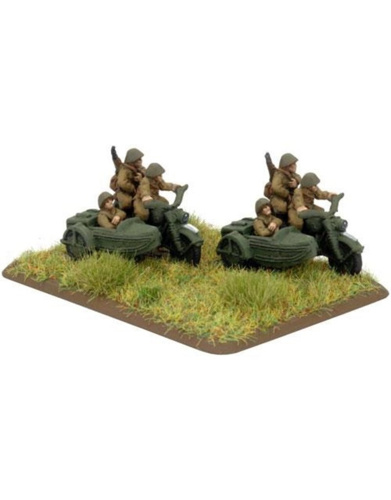Flames of War PL400 Motorcycle Platoon