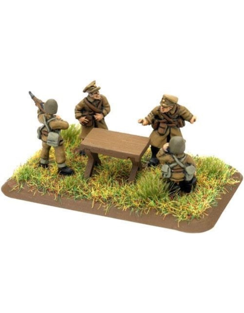Flames of War PL709 Artillery HQ