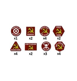 Team Yankee TTK02 Soviet Token Set