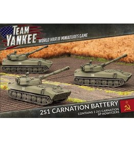Team Yankee TSBX07 2S1 Carnation Battery