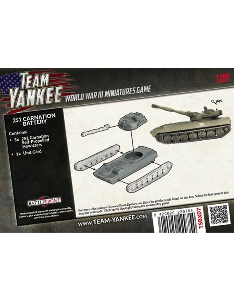 Team Yankee TSBX07 2S1 Carnation Battery