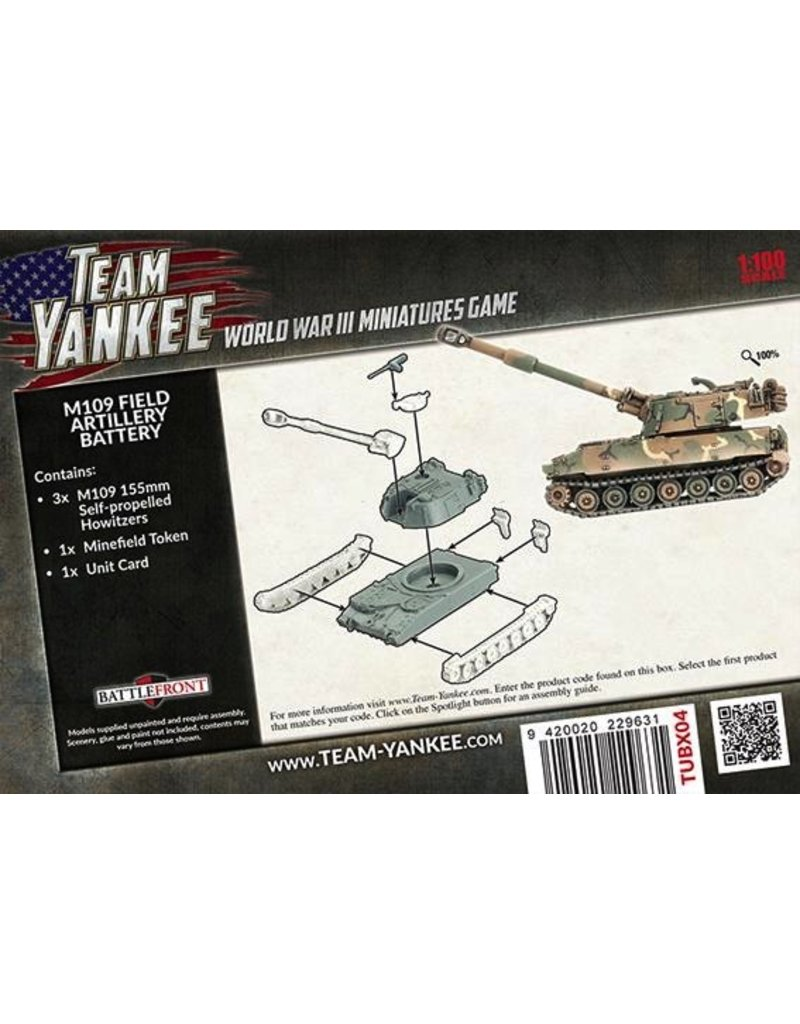Team Yankee TUBX04 M109 Field Battery