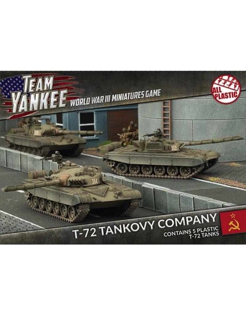 Team Yankee TSBX01 T-72 Tankovy Company