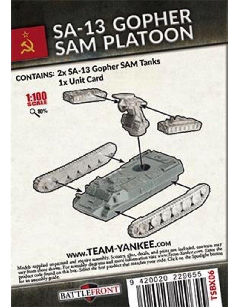 Team Yankee TSBX06 SA-13 Gopher SAM Platoon