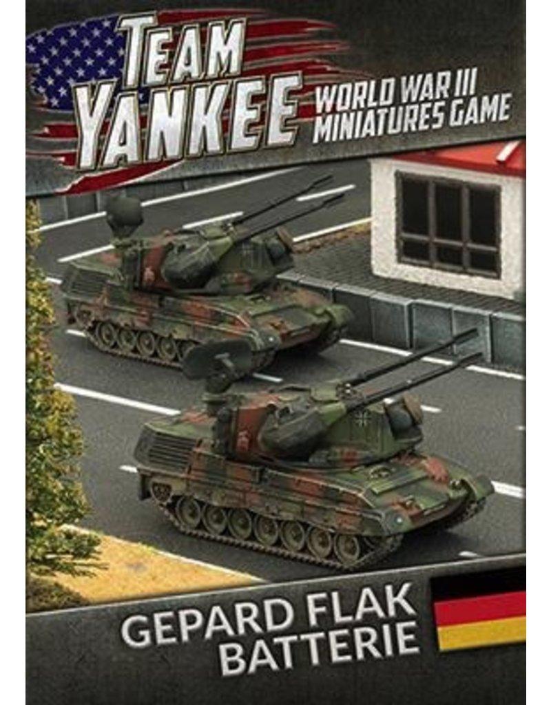 Team Yankee TGBX07 Gepard Flakpanzer Batterie