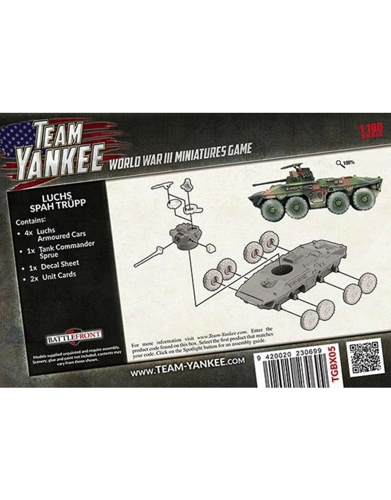 Team Yankee TGBX05 Luchs Spah Trupp